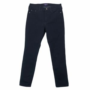 NYDJ Dark Wash Straight Jeans